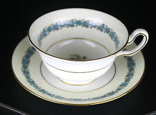 WEDGWOOD APPLEDORE CHINA  CUP AND SAUCER