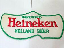 Heineken Imported Holland Beer  Jacket Patch  Ex-lg