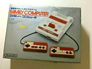 BOXED FAMICOM Original Nintendo Game Console  NES
