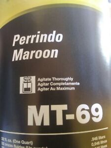 Matrix Toner MT-69 Perrindo Maroon (1 QT)