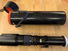 Seimar 500mm Camera Lens Vintage  Con Box Custodia