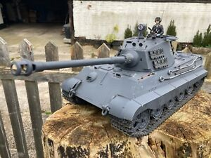 1/16 scale Tamiya German King Tiger tank with Production turret WW2