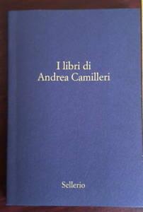 I LIBRI DI ANDREA CAMILLERI Sellerio 2020 Montalbano romanzo raccolta Libro book