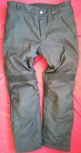 IXS GORETEX CORDURA WATERPROOF MOTORBIKE TROUSERS XL short UK 36 38 waist 31 leg
