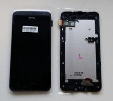 HTC Desire 300 display con marco LCD pantalla táctil de Vidrio Frontal Pantalla táctil Screen