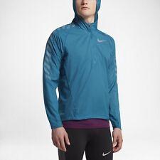 Nike Impossibly Light Men's Running Jacket MED Blue Gym Casual Training Rain New