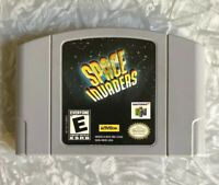 N64 Space Invaders Nintendo 64 Authentic Cartridge Cleaned TESTED Free Ship!