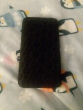 Rue 21 etc! Black lace silver clutch clasp wallet never used