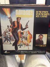 Savage-Don Julian Funk OST LP 1973/1997 RE EX
