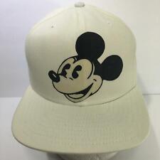 Vintage Disney Mickey Mouse Big Logo New Era Snapback M-L Cap Hat