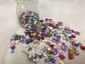 HUGE Lot More than 2000 cts Flat back Rhinestone Nail Art Mix Jewelry Craft
