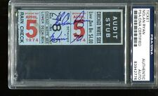 Nolan Ryan Signed Ticket 70th Win Opening Day 4/5/74 Autographed PSA/DNA *2776