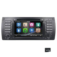 "7"" Car DVD Stereo Player GPS For BMW 5er E39 X5 E53 M5 DVR/DVB-T iPod 3G 7161TA"