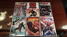 6x SUICIDERS KINGS OF HELL.A. Comic Set # 1 2 3 4 5 6 DC VERTIGO HELLA