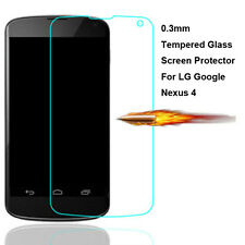 Premium Real Tempered Glass Film Guard Screen Protector for LG Google Nexus 4