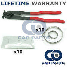 CAR ATV FITS 99% OF VEHICLES CV BOOT CLAMPS X10 GREASE X10 & EAR PLIERS