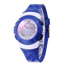 Kids Digital Blue Wrist Watch Child Boy Girl Waterproof Sports Watch UK