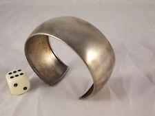 Elegant Wide Bracelet Bracelet 925 Silver Italy