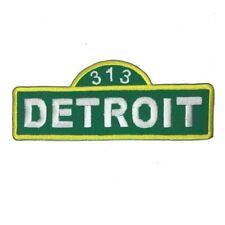Patch - Detroit Street Sign