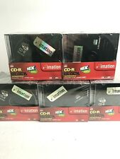 Imation Black CD-R 16X 80min /700MB 20 Pack Brand New with Jewel Case