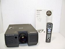 Sharp Digital Notevision XG-NV1U LCD Projector with Remote Control and Manual