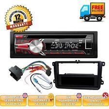 VW JETTA DAB car radio complete upgrade package USB AUX input KD-DB65