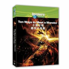 Discovery Channel: Ten ways to meet a monster TAIWAN DVD ENGLISH