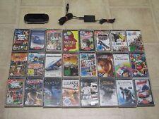 Sony PSP Schwarz mit 3 Spiele + Zubehörpaket (1004)