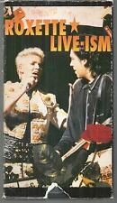 Roxette Live-ism 1992 VHS Join the Joyride 1991-92 World Tour very good