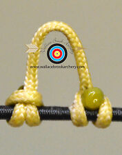 2 Pack Cedar Archery Release Bow String Nock D Loop Bowstring Bcy #24