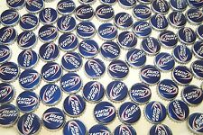 100 BL BUD LITE LIGHT BEER BOTTLE CAPS NEWEST RED WHITE BLUE STYLE NO DENTS