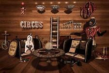 Old Photo.  Circus Freak Show - monkey
