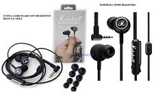 MARSHALL MODE Black & White CUFFIA AURICOLARE IN EAR CON MICROFONO risponditore