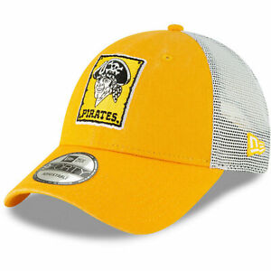 Pittsburgh Pirates New Era 9Forty Cooperstown Trucker Adjustable Snapback Hat