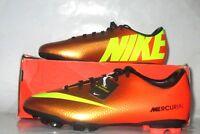 NIB Nike Mercurial Victory IV FG 2013 Burnt ORG/BLK Soccer Cleats Youth SZ 5.5 M