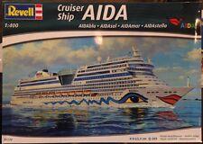 Revell 1/400 AIDAblu, AIDAsol, AIDAmar, AIDAstella Cruise Ship Plastic Kit 05230