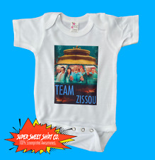 Life Aquatic Bodysuit, Wes Anderson, shower gift, New Dad, New Mom Bill Murray