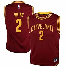 Kyrie Irving Cleveland Cavaliers Youth Medium 10/12 Replica NBA Jersey Red $50