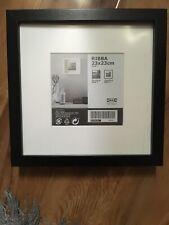 Ikea Ribba Box Frame Black. Brand New No Packet 23 x 23 cm.