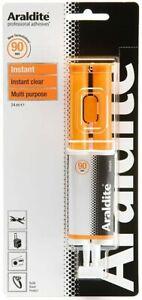 Araldite Instant 24ml Syringe - Multi Purpose Adhesive Glue - Solvent Free