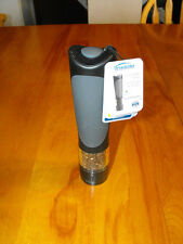 "Trudeau Home Presence 8"" Peppermill Battery - Black/Grey (NEW) Lot A"