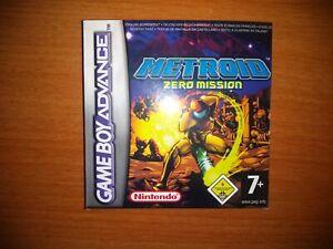 Metroid Zero Mission PAL - Nintendo Game Boy Advance - GBA