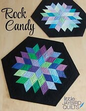 Rock Candy Quilt Pattern ~ Jaybird Quilts, uses Sidekick ruler, table topper