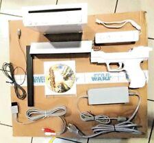 Nintendo Wii + wii mote + base  + cavetteria gioco wii flatout incluso usato