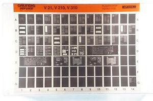 Grundig Service V21 V210 V310 Hifi Verstärker Microfiche 1994 vintage K222