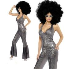 70s Disco Diva Size Med 12 – 14 Ladies Costume