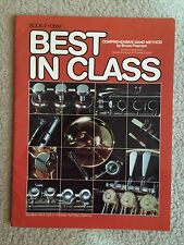 BEST IN CLASS BOOK 2 BAND METHOD OBOE W4OB 545