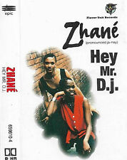 Zhané ‎Hey Mr. D.J. cassette single Hip Hop, Funk / Soul RnB/Swing Epic