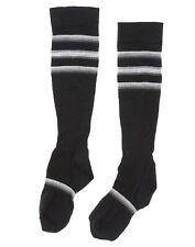 Smartwool Men's Striped Dress Crew Socks in Black 1402 Size S