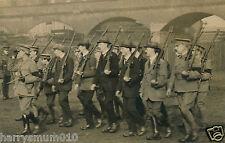 Postcard R P V T C volunteer training corps Battalion  WWI (A4) Isle of man